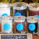 How about some incredible, rare, unusual salts from The Meadow?  If you're in Portland, stop by the shop--it's a wonderland of chocolate, salt, and other delights.