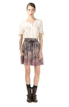 Marc by Marc Jacobs Solstice Print Skirt.