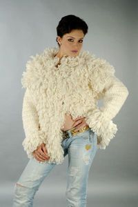 Crocheted Coat