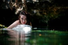 "Heck yes! These pictures of ""Trash the Dress"" are amazing!!  trash the wedding dress underwater photo shoot"