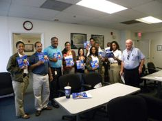 CPIS investigators from Broward County Sheriff's office receiving Sexual Abuse Prevention Training and our book - My Body is Special and Belongs To ME!