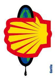 Shell / Gorilla / Volkskrant Voor vele interpretaties vatbaar.