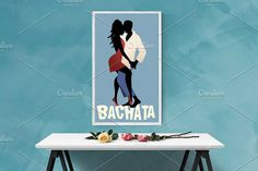 Latin Music, Shall We Dance, Consulting Logo, Young Couples, Graphic Illustration, Salsa, Dancing, Silhouette, Poster