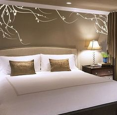 Design and decorate the bedrooms with beautiful artistic wall decals that will add a new look to the entire bedroom. These wall decals are very easy to use and you can just stick them anywhere with...