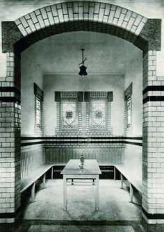 Badhuis Marisstraat vroeger  Vlaardingen