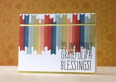Created by Laura Bassen using the November 2015 card kit by Simon Says Stamp.