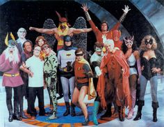 "LOTS (1979) - guest stars included Frank Gorshin as The Riddler, Howard Morris as Dr. Sivana, Gabriel Dell as Mordru, Charlie Callas as Sinestro, Jeff Altman as the Weather Wizard, Ruth Buzzi as Aunt Minerva, Mickey Morton as Solomon Grundy, June Gable as Rhoda Rooter, Pat Carroll as Hawkman's mother, A'leshia Brevard as Giganta, William Schallert playing the Scarlet Cyclone (aka ""Retired Man"") and Brad Sanders as ""Ghetto Man"". Ed McMahon played himself, hosting the celebrity super-hero…"