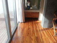 T&G solid wood flooring