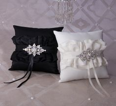 black and white wedding accessory collection | Isabella Brooch Wedding Collection | My Wedding Day Favors - weddings ...