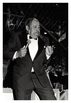 Cab Calloway - NY - 1980 © Roxanne LOWIT