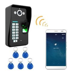 Home Wireless Doorbell WiFi Remote Video Camera #wirelesshomesecuritysystem