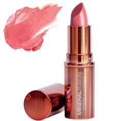 Luxurious formula smoothes on lips, delivering rich color with staying power. Resists smudging and feathering for a perfectly enhanced pout. Mineral Fusion, Pomegranate Oil, Coral, Soft Lips, Pink Lips, Skin Makeup, Shea Butter, Lip Balm, Fragrance