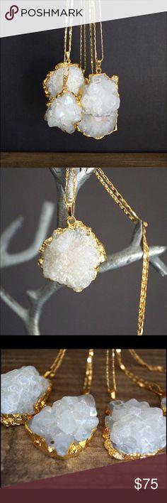 Spotted while shopping on Poshmark: 🌺HOST PICK🌺 Solar Quartz Necklace! #poshmark #fashion #shopping #style #Function & Fringe #Jewelry
