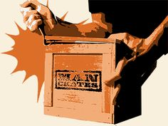 Man Crates- Awesome Gifts for Dad hell open with the included crowbar | Man Crates