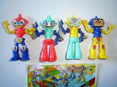 Kinder Surprise Set Robots Saudi Arabia 2011 Figures Toys Collectibles | eBay