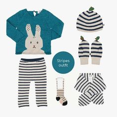 Stripes Outfit Baby Outfits, Baby Online, Kind Mode, Kids Fashion, Stripes, Clothing, Shopping, Tops, Women