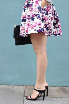 Floral Skirt, chambr
