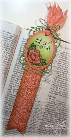 Beautiful World Bookmark by bfinlay - Cards and Paper Crafts at Splitcoaststampers