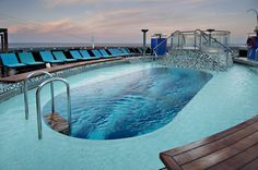 Serenity pool on the Carnival Sunshine