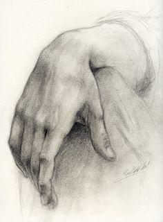 My hand by BeatrizMartinVidal.deviantart.com on @deviantART
