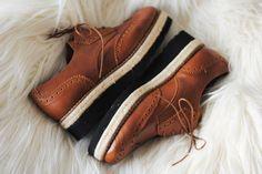 High Platform Brogue Shoes for us