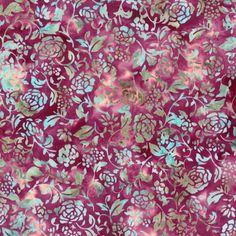 Fuchsia Hoffman Bali Floral Silhouette