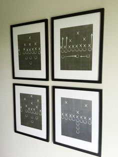 One Room Challenge: Boy's Football Bedroom Reveal - Lemons, Lavender,