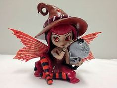 Jasmine Becket Griffith Fairies Figurines   ... That-Binds-Fairy-Figurine-Make-a-Little-Magic-Jasmine-Becket-Griffith