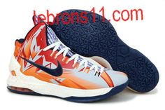e3eca1cabd2 Kevin Durant 5 Orange Navy Pe Shoes Nike Shoes Cheap
