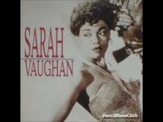 "Songs of Sarah Vaughan from her album entitled ""A Lover's Concerto"" Sarah Lois Vaughan was an American jazz singer, described by Jazz commentator/music criti. Jazz Music, Music Icon, Music Love, My Music, Amazing Music, Jazz Blues, Rhythm And Blues, Blues Music, Mood Songs"