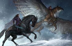 Riders by sandara.deviantart.com on @deviantART