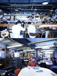 """ただ""""働くだけ""""のスペースとは一線を画す、スタイルのあるオフィスを訪問。業界の最前線で活躍する人々はどんな環境でお仕事に励んでいるのか、実例を通してお仕事環境の在り方を徹底取材! 第2回は、「ワイアードカフェ」ほか多数のカフェを企画・運営する「カフェ・カンパニー」のオフィスに潜入。""""食""""を扱う会社ならではのオフィス事情とは?"""