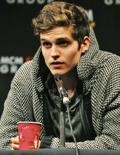 """Previous Pinner: """"Daniel Sharman (Isaac) from Teen Wolf Where do you get off looking like that? You've got some nerve."""""""