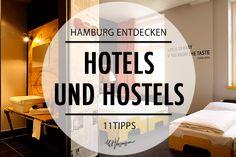 Hotels und Hostels in Hamburg von Mit Vergnügen Hamburg