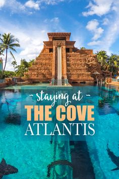 Atlantis Paradise Island is a gorgeous ocean-themed resort in the Bahamas. I spent a week with gal-pal Courtney Scott, my other half of Girls Meet Globe, and we had a BLAST. Here's more about our experience staying at The Cove Atlantis, Paradise Island!