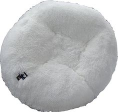 BESSIE AND BARNIE 60Inch Bagel Bed for Pets XLarge Snow White >>> Continue to the product at the image link.