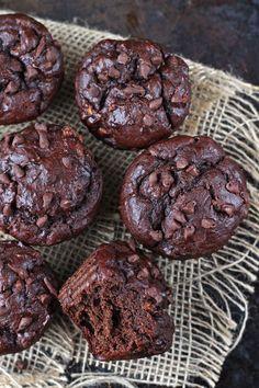 Chocolate Tahini Muffins