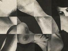 12 Figure Squares #2 by Robert Heinecken, 1967