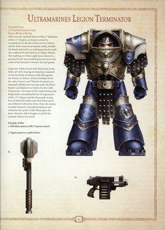 Ultramarine Legion Terminator