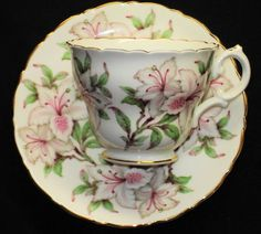 Royal Cauldon England Melody Lily One Tea Cup and Saucer | eBay
