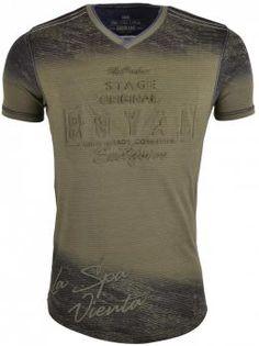 Gabbiano Spa Vienta T-Shirt Khaki , Roberto-Romero
