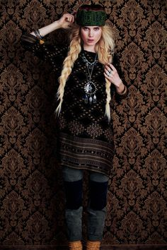 Elsa Sylvan Has Wanderlust for Free Peoples December Lookbook