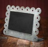 Metal frame chalk board