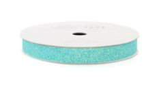 Self adhesive no mess glitter tape! Approximately 1cm wide and comes on a 2.7 metre roll in a selection of colours.