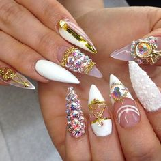 Image via We Heart It https://weheartit.com/entry/142379809 #adorable #beauty #ghetto #kawaii #nails #perfect #3dnails