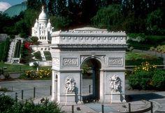 Les #maquettes de #monuments européens du parc Mini Europe à #Bruxelles