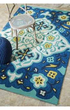 Rugs USA Serendipity 5106 Blue Rug. Rugs USA Fall Sale up to 80% Off! Area rug, rug, carpet, design, style, home decor, interior design, pattern, trends, home, statement, fall,design, autumn, cozy, sale, discount, interiors, house, free shipping, Halloween, fall decorations, fall crafts, fall décor, great winter, winter, warm, furniture, art.