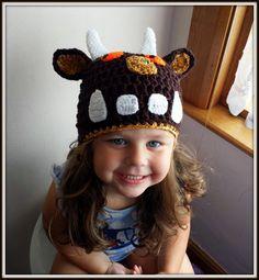 Boys Girls Gruffalo books by Julia Donaldson Hat by Bisbas on Etsy