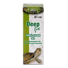 Deep Turti Clean Jel Su Kaplumbağaları için Kabuk Koruyucu 20 ml