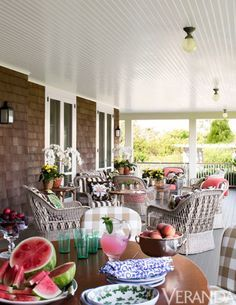 Kelli Ford Southampton porch